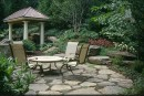 4,  Natural Stone Patio & Boulder Walls 72