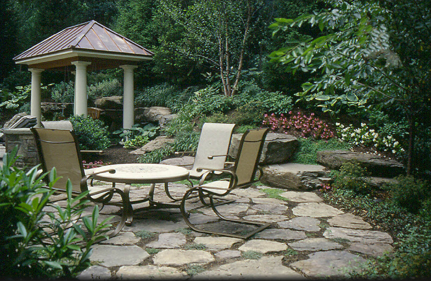 Pin by Vicki Calhoun on Outside | Pinterest on Rock Patio Designs id=11993